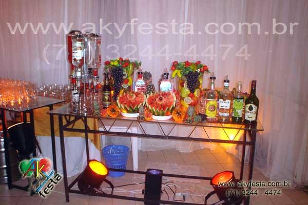 Formatura enfermagem decoracao buffet com chopp casa de