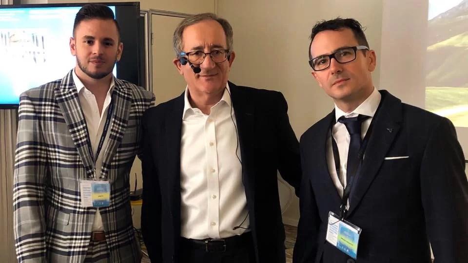 Boris Ilić, Lino Červar, Adriano Friganović (FOTO: AKZVU)