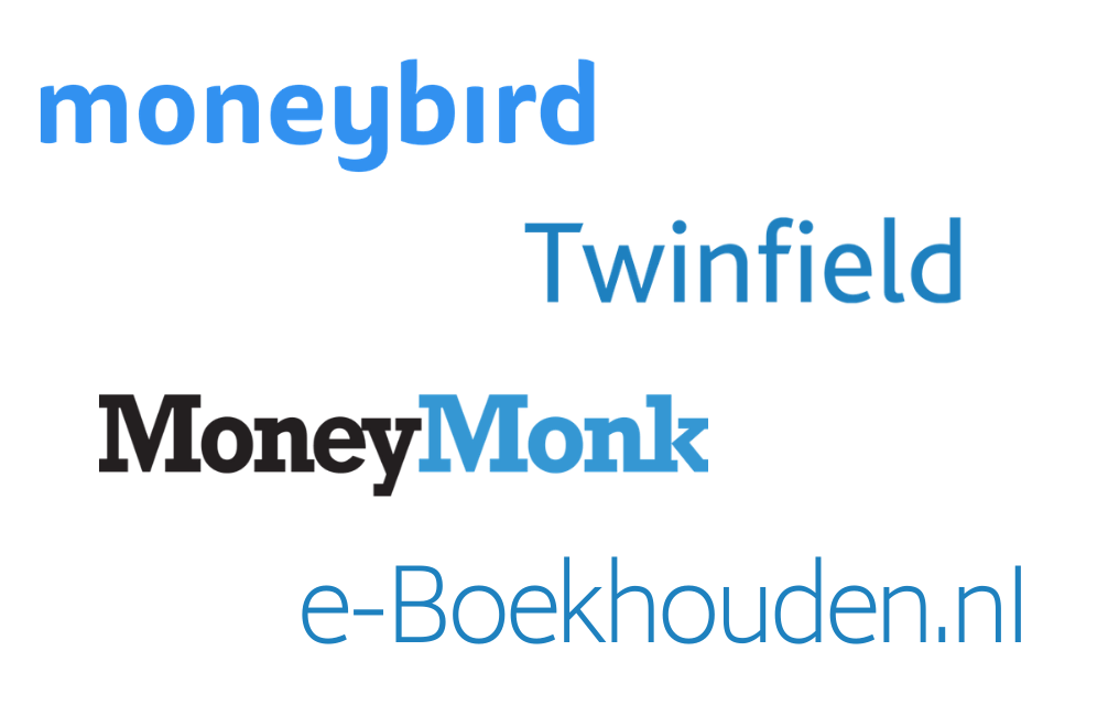 MoneyBird - Twinfield - MoneyMonk - e-boekhouden