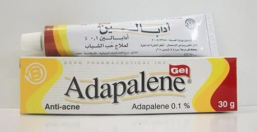 أدابالين جيل لعلاج حب الشباب والرؤوس السوداء Adapalene Gel