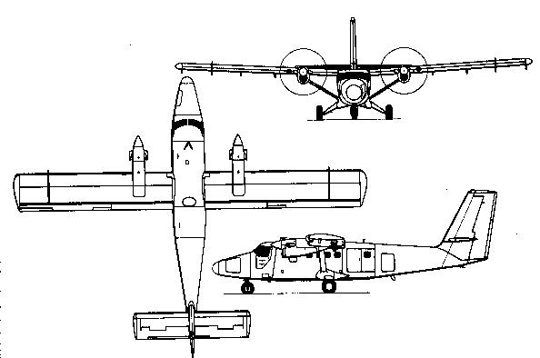 Militeria: de Havilland Canada DHC-6 Twin Otter Regional