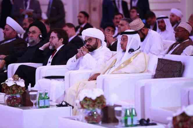 الامين   السلم بين البشر ومقاصد الشريعة الإسلامية- منتدى تعزيز السلم - أبو ظبي 2