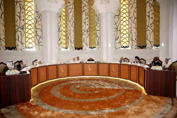 مجلس حكماء المسلمين - شيخ الازهر - البابا فرنسيس - الشيخ عبد الله بن بيه - السيد علي الامين