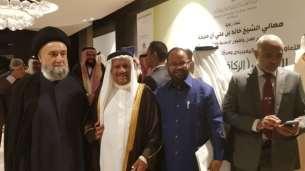 السيد علي الأمين - المؤتمر الدولي الزكاة والتنية الشاملة - مملكة البحرين (13) (Phone)