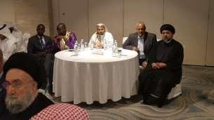 السيد علي الأمين - المؤتمر الدولي الزكاة والتنية الشاملة - مملكة البحرين (32) (Phone)