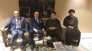 السيد علي الأمين - المؤتمر الدولي الزكاة والتنية الشاملة - مملكة البحرين (53) (Phone)