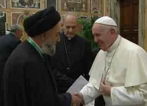 البابا فرنسيس - السيد علي الأمين