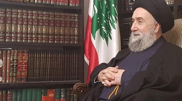 """العلامة الأمين لـ""""لبنان عربي"""": هي (صفقة القضم) وليست (صفقة القرن). المطلوب من إيران أن تكون علاقتها بالدول العربية وليس من خلال أحزاب دينية وجماعات طائفية Sayyed-Ali-Al-Amin-Lobnana-arabi-Mostafa-Owayyek"""