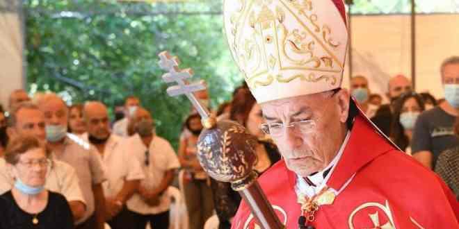 البطريرك الراعي يندد ويطلق صرخته متضامنا مع العلامة السيد علي الأمين Patriarch-becara-alraii