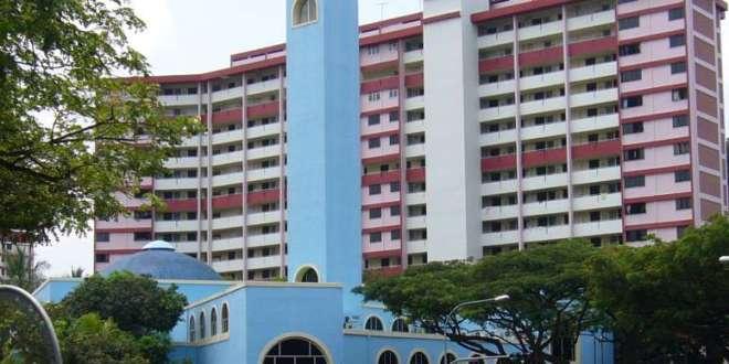 مسجد الانصار بسنغافورة