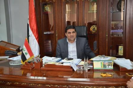 معالي الوزير الاستاذ عبد الكريم يونس الخزرجي العراق