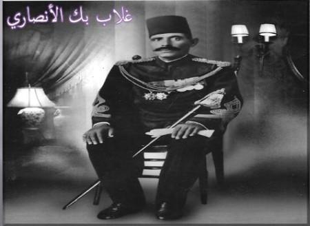 غلاب بك شافعين الأنصاري: قائد الجيش المصري فى السودان