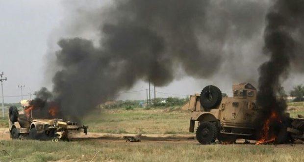 ننگرہار وغزنی حملے ودھماکے،4 ٹینک تباہ، 23 ہلاک