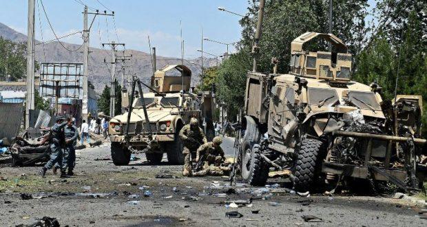 فاریاب: فوجی کاروان پر حملہ، 12 ٹینک وگاڑیاں تباہ، ہلاکتیں