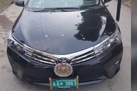 پشاور: نامعلوم افراد کی فائرنگ، جسٹس ایوب مروت ڈرائیور سمیت زخمی
