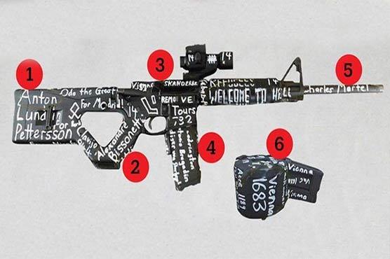 کرائسٹ چرچ فائرنگ: حملہ آور کی بندوق پر کیا پیغام درج تھا؟