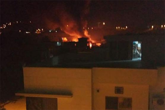 تربیتی طیارہ راولپنڈی میں آبادی پر گر گیا، 19 افراد جاں بحق، 16 زخمی