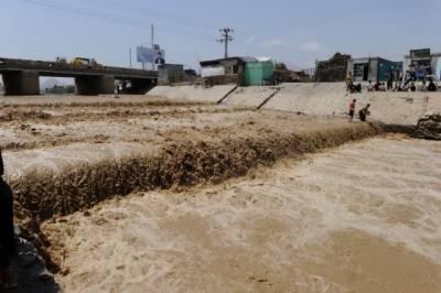 کوہ سلیمان پہاڑی سلسلے پر بارش سے ندی نالوں میں طغیانی، نشیبی علاقے زیر آب آنے کا اندیشہ
