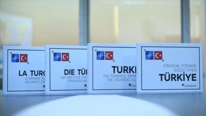 ترک صدر ایردوان کی طرف سے سربراہان نیٹو کے لئے کتاب پیش