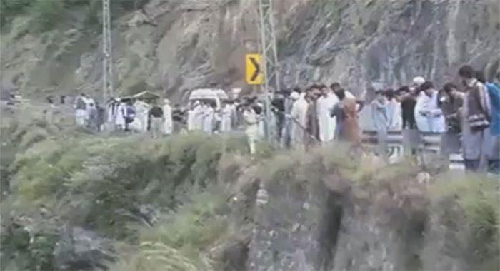 بالا کوٹ اور وادی نیلم میں حادثات کے دوران 8 افراد جاں بحق اور متعدد زخمی
