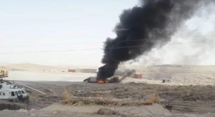 طالبان نے صوبہ ہلمند میں اینٹی ایئرکرافٹ گن کی مدد سے ہیلی کاپٹر مار گرایا