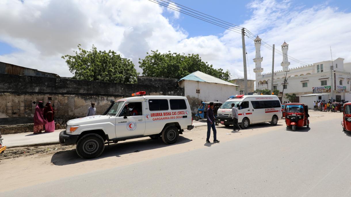 صومالیہ، فوجی اڈے پر زور دار دھماکہ