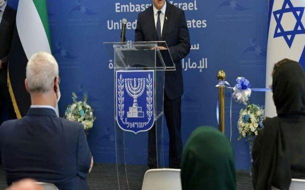 اسرائیل کے وزیر خارجہ کا دورہ ابوظبی،اسرائیلی سفارت خانہ کا افتتاح