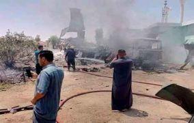 عراق :امریکی اڈے پر 14 راکٹ داغے گئے ،دو امریکی زخمی