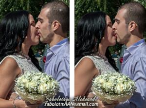 ретушування весільного фото