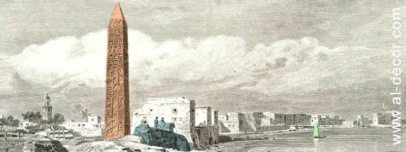 المسلات الفرعونية دليل علي قوة الجرانيت