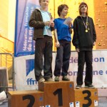 Podium minimes garçons (Coupe du Rhône d'escalade - Anse)