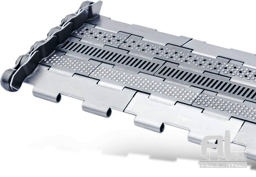 tapis-de-convoyeur-T25.4 - Tapis métallique convoyeur