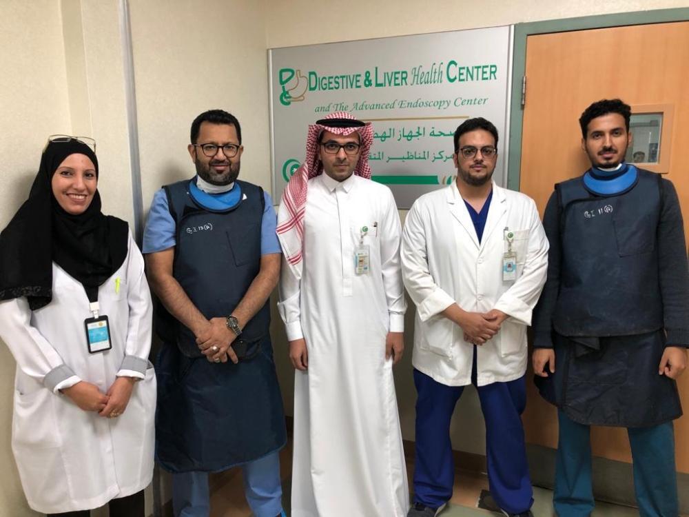 مدينة الملك عبدالله الطبية اول منظار بتقنية الاشعه الصوتية المدينة