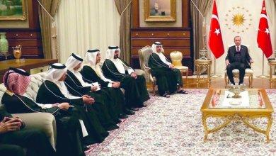 Photo of استقبال أردوغان وفدًا قطريًّا يثير الجدل…