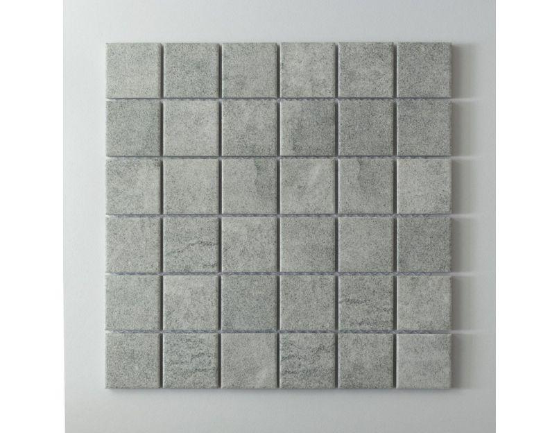 mineral gris r 11 porcelain mosaic tile