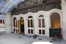 Entrance to main prayer hall.
