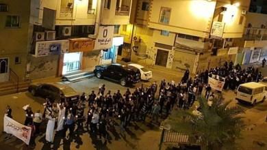 """مسقط رأس فارس القصاص """"أحمد الملالي"""" تواصل تظاهرات الغضب والوفاء له"""