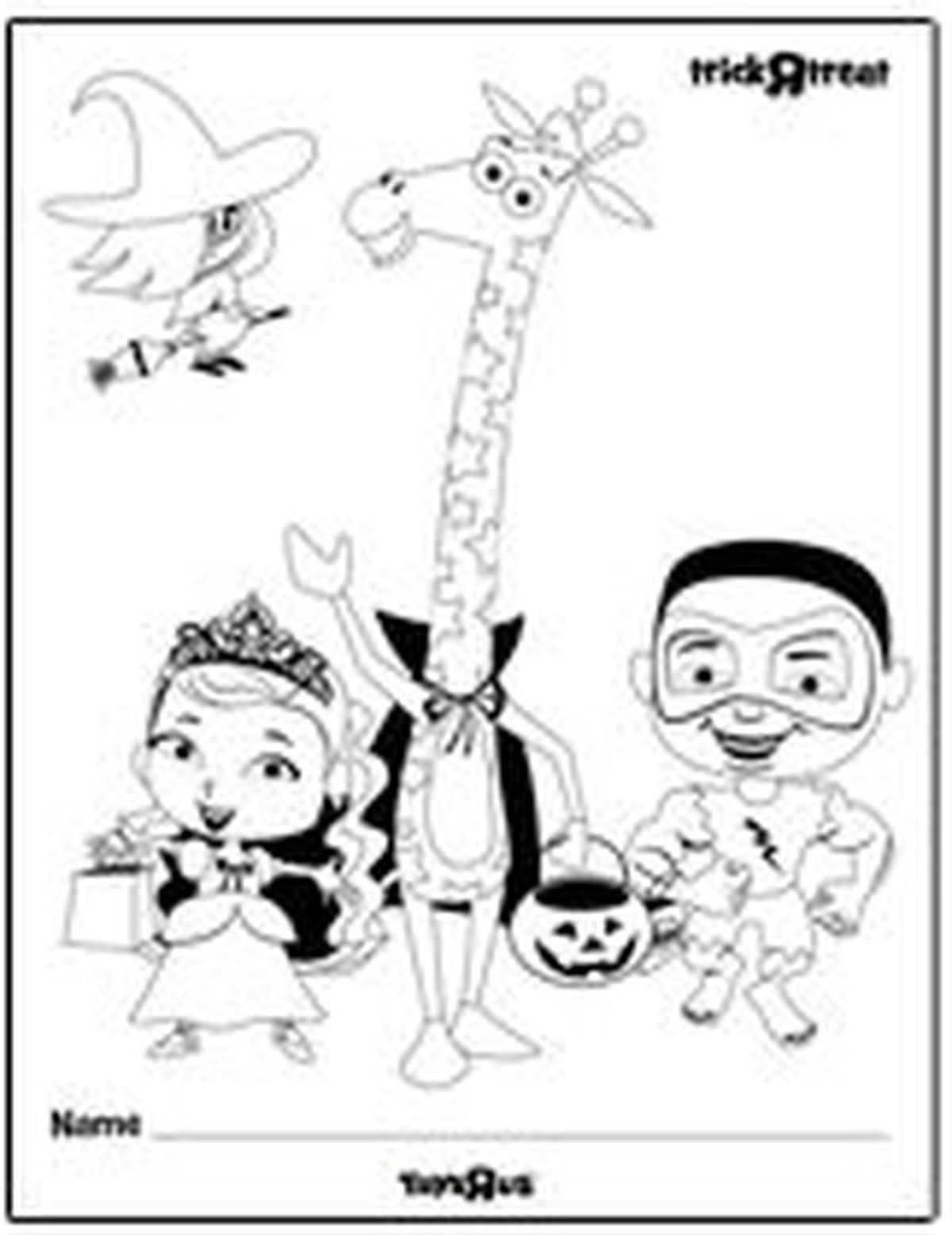 Toys R Us Free Halloween printables + New Toys R Us