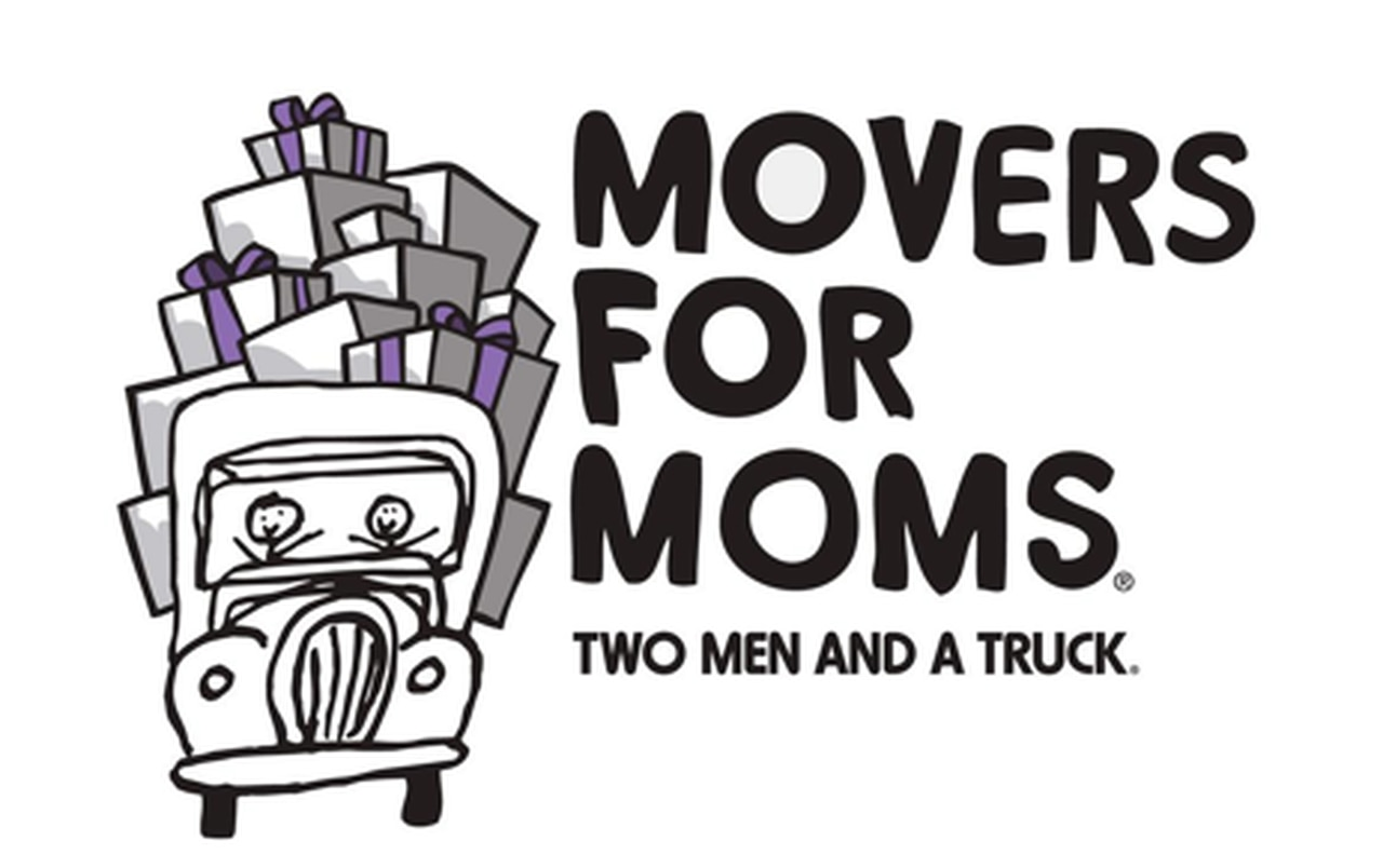 Two Men & A Truck Movers for Moms Donation Drive to Help