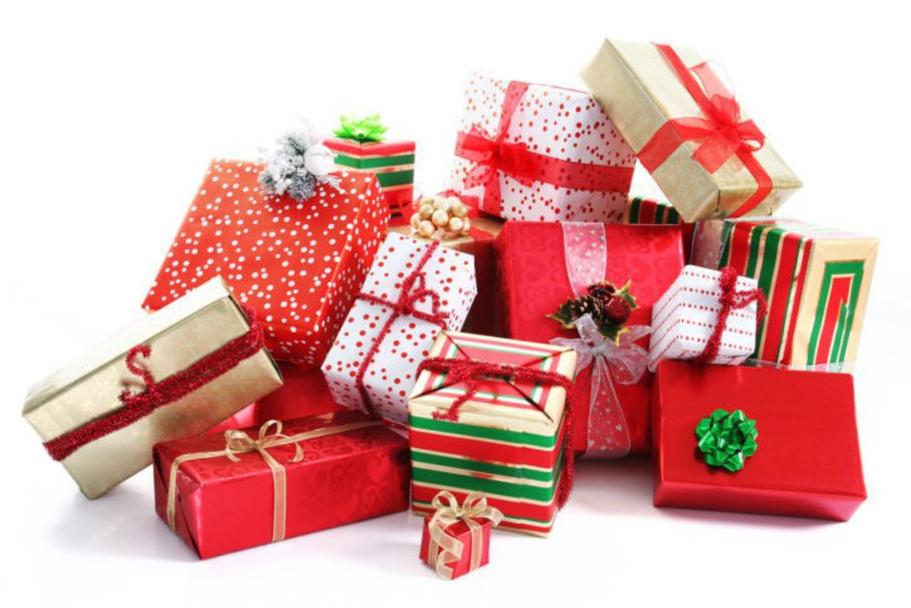 how many christmas presents