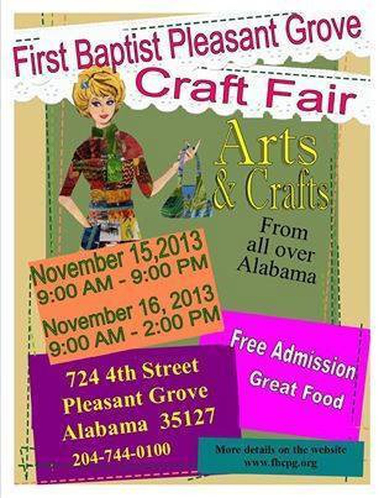 Over 200 Craft Vendors On Hand In Pleasant Grove And Hueytown At Annual Craft Fairs Al Com
