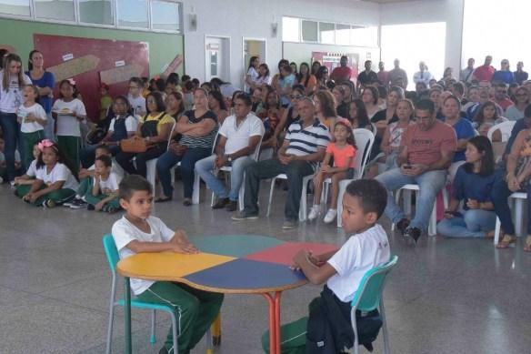 Pais e convidados prestigiaram os trabalhos dos alunos na Mostra Cultura