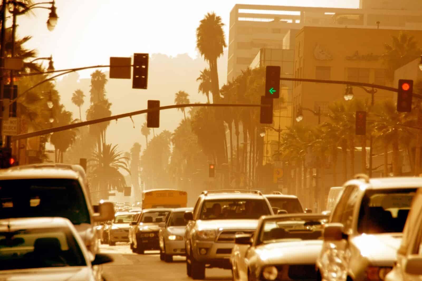 المدن الأمريكية غير الصحية للهواء الملوث