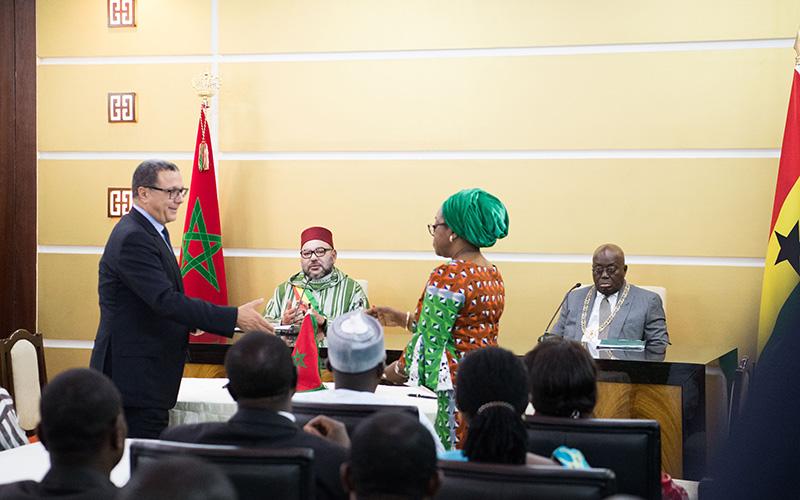 التوقيع على 25 اتفاقية للتعاون بين المغرب وغانا