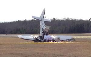 تحطم طائرة بمطار كليميم