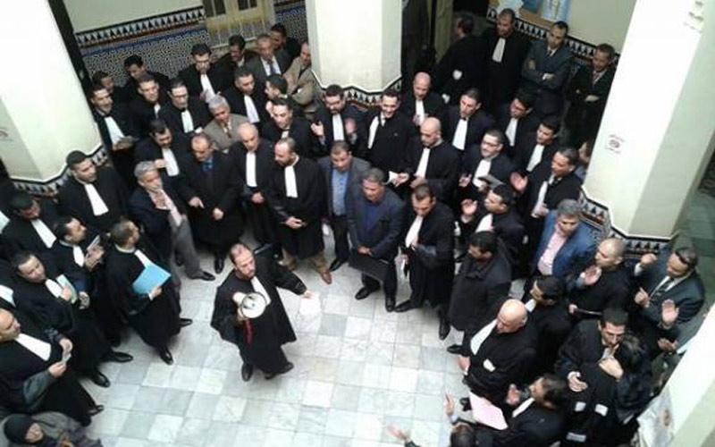 اتهامات لمحاميي البام بطنجة للإحتجاج ضد النيابة العامة