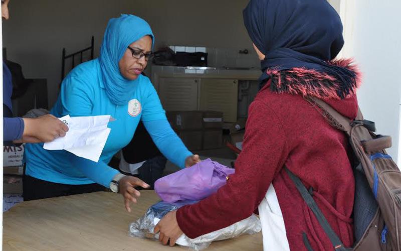 ملتقى بلادي وشباب متطوع يقودان قافلة تضامنية باولاد غانم