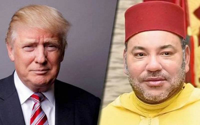 الملك يلتقي دونالد ترامب الاحد القادم