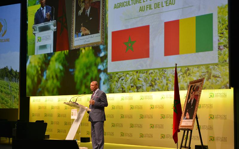 هذا ما قاله ألفا كوندي بخصوص المغرب و دول إفريقيا في مناظرة الفلاحة بمكناس