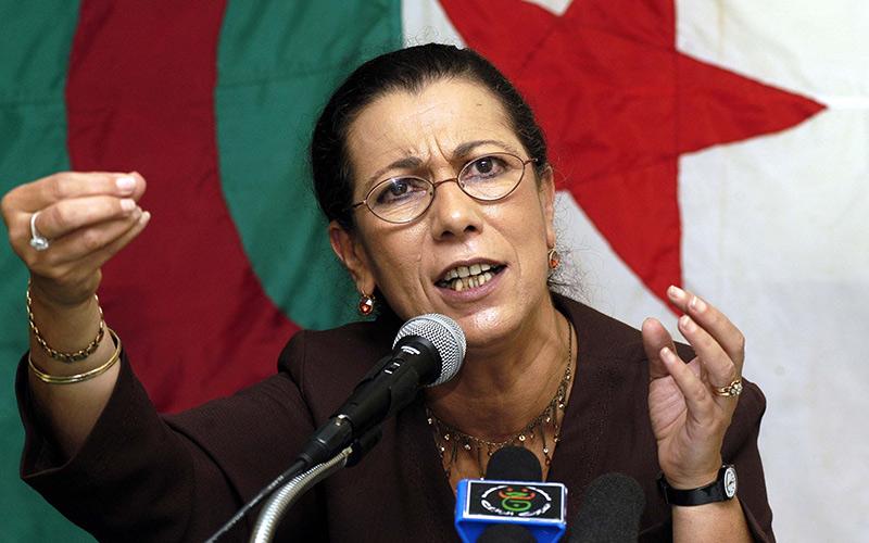 الأمينة العامة لحزب العمال لويزة حنون  : العد التنازلي للنظام الجزائري بدأ مباشرة بعد الإعلان عن نتائج الانتخابات التشريعية